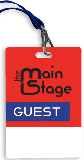 The Main Stage Badge
