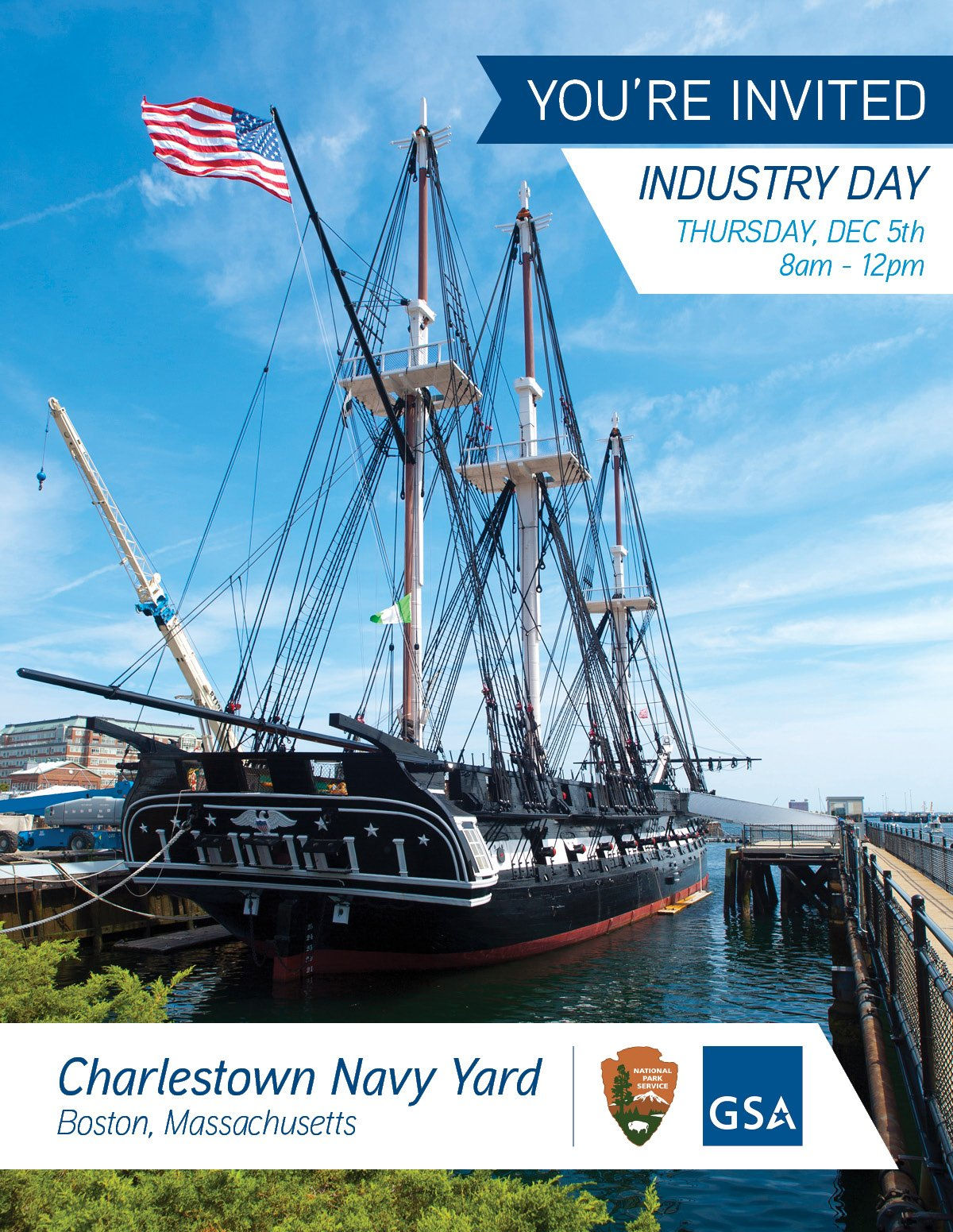 Industry Day invitation_Charlestown Navy Yard_12.5.19_masthead with logos